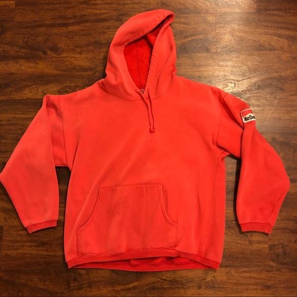 Vintage Other - Vintage Marlboro red hoodie